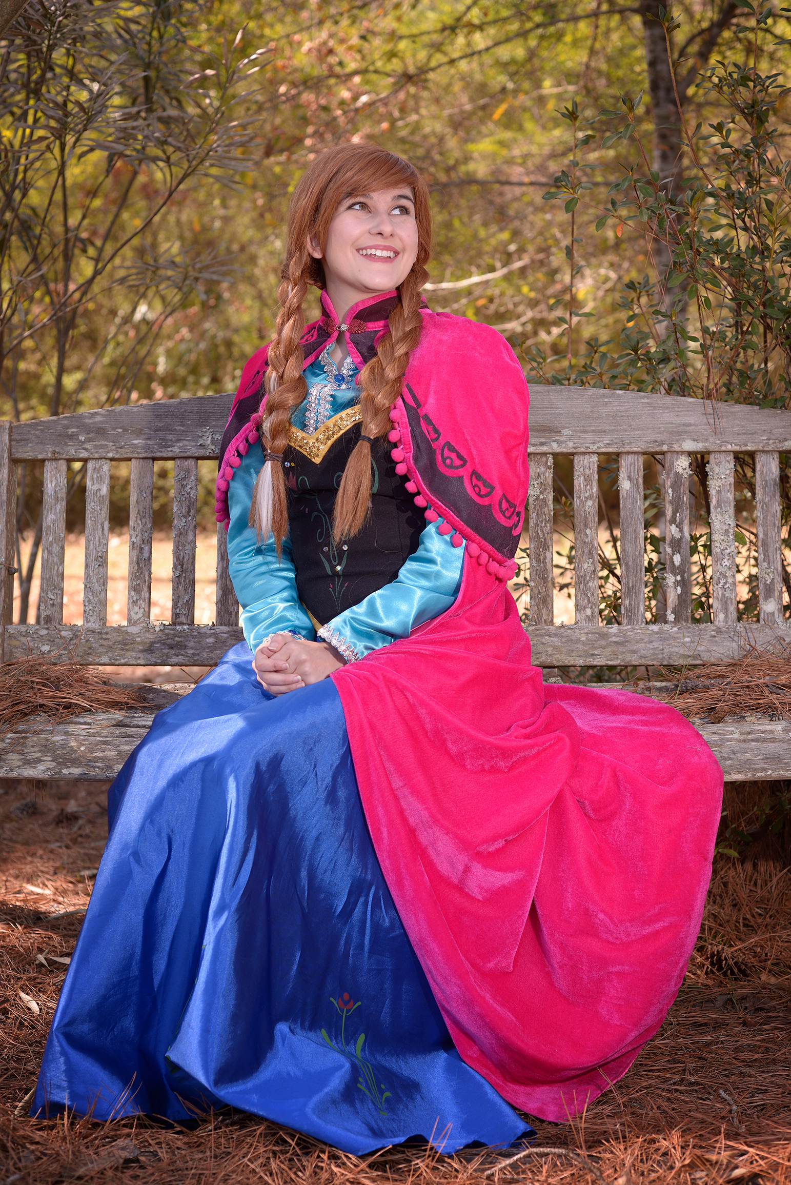 Anna Fairy Tale Character