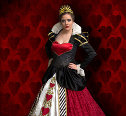 Queen of Hearts Fairy Tale Character