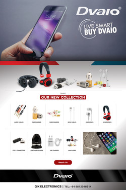 DVAIO Ad Design