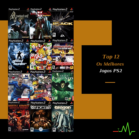 3.0 Os Melhores Jogos PS2 - Site Pessoal