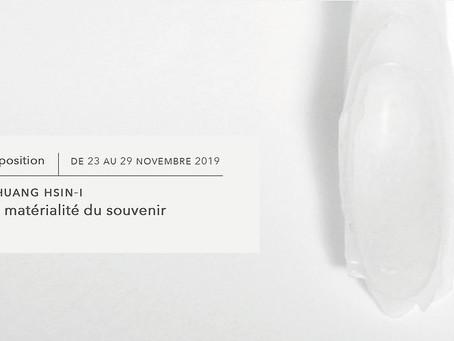 Expo │ La matérialité du souvenir