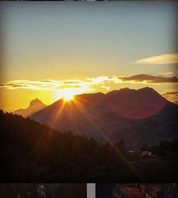 Sunset Mountain Views
