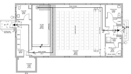 Row seating idea #1