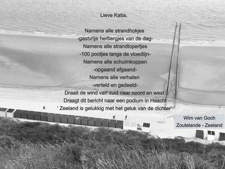 Brief  vanuit Zeeland aan de Haachtse dorpsdichter