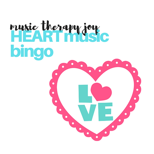 HEART Music Bingo
