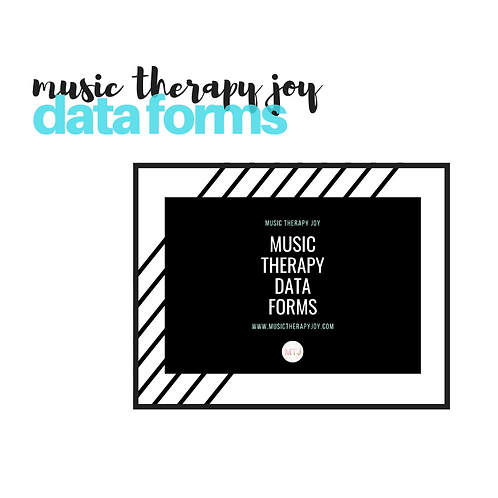 Music Therapy Data Forms