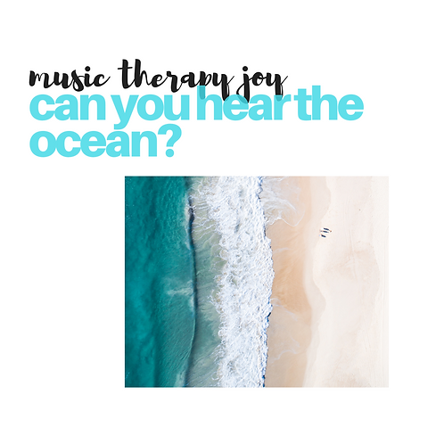 Can You Hear the Ocean?