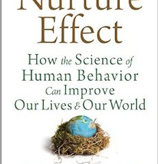 Book Review: The Nurture Effect - Anthony Bigland