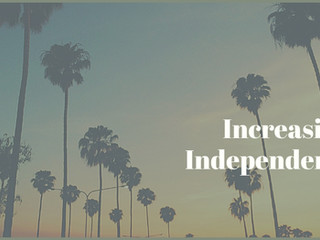 Increasing Independence