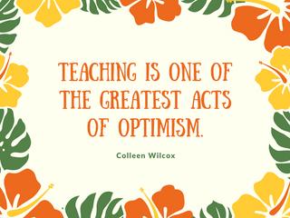 "Happy ""Let's Always Appreciate Teachers"" Year!"