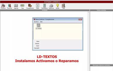 LD Textos para Lex Doctor 8 CHAVEZ Computacion