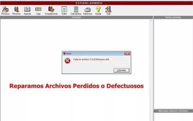 Lex Doctor 8 Reparamos archivos Perdidos Chavez computacion