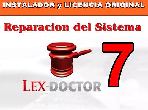 soporte tecnico lex doctor, reparar lex doctor, compatibilidad lex doctor, soporte tecnico lex doctor, crack lex doctor