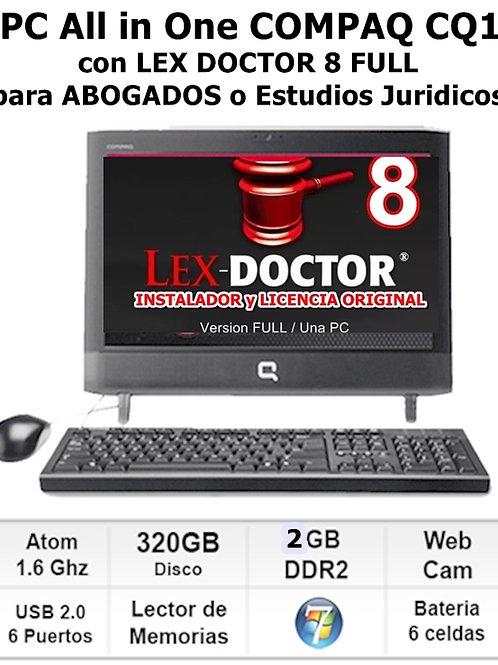 Computadora para abogados con Lex doctor, comprar lex doctor, descargar lex doctor full, crack lex doctor, reparar lex doctor