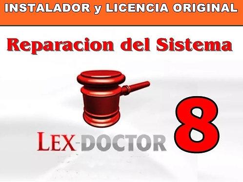 soporte tecnico lex doctor, asistencia tecnica lex doctor, reparar lex doctor, activar lex doctor, parchar crack lex doctor