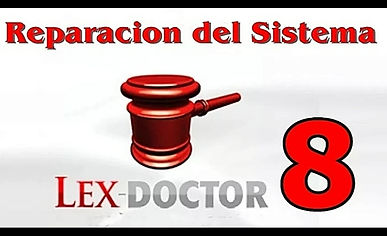 Reparacion Solucion de compatibilidad Activacion Crack Actualizacion Lex Doctor Chavez Computacion