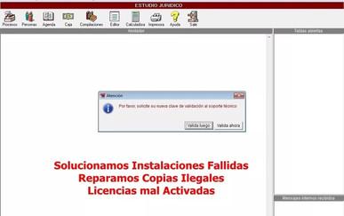 Lex Docto 8 Solucion de instalaciones Fallidas o copias ilegales CHAVEZ Computacion