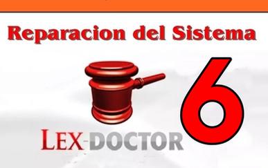 Reparacion Solucion Problemas de Lex doctor 6 chavez computacion