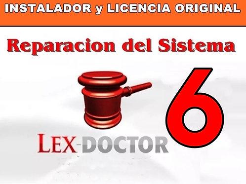 soporte tecnico lex doctor, asistencia tecnica lex doctor, crack lex doctor, reparar lex doctor, compatibilidad lex doctor