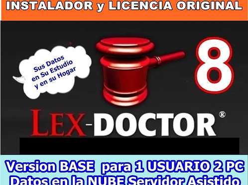 lex doctor 8 para 1 usuario con 2 pc, comprar lex doctor, descargar lex doctor full, crack lex doctor, reparar lex doctor