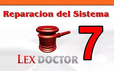 Reparacion Solucion Problemas de Lex doctor 7 chavez computacion