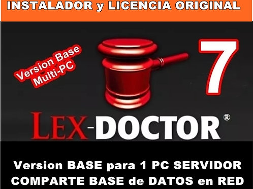 comprar lex doctor, descargar lex doctor full, crack lex doctor, activar lex do reparar lex doctor, compatibilidad lex doctor