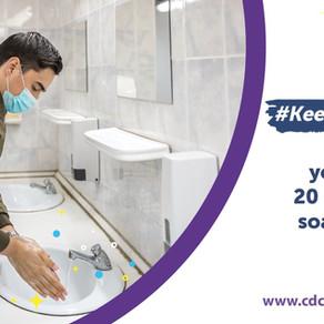 Oct. 15: Celebrate Global Handwashing Day