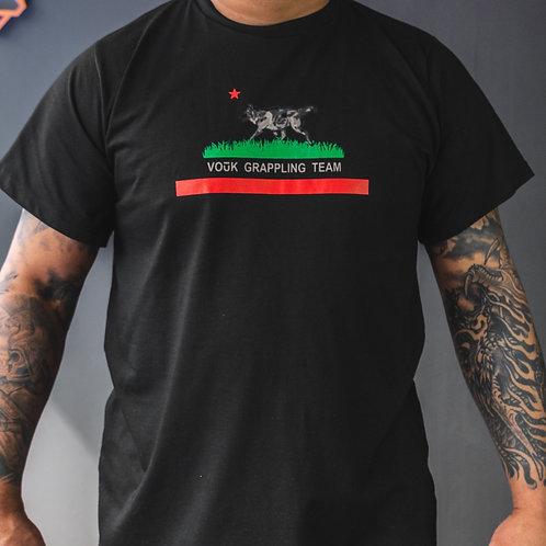 t-shirt Califa black