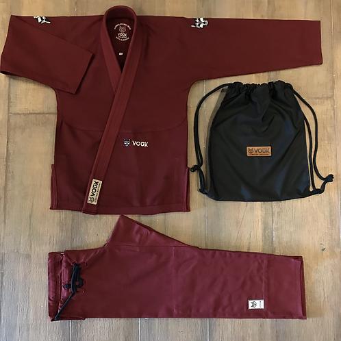 Kimono Vouk Bordeaux 3.0 - Edição Limitada