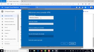 Criando uma VPN com o Google Cloud Platform (GCP)
