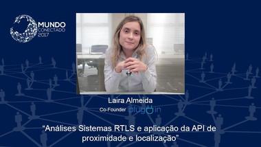 Sistemas RTLS e aplicação da API de proximidade e localização - Laira Almeida da Pluguin | MC 2017