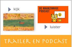 waanzinnige podcast en boektrailers