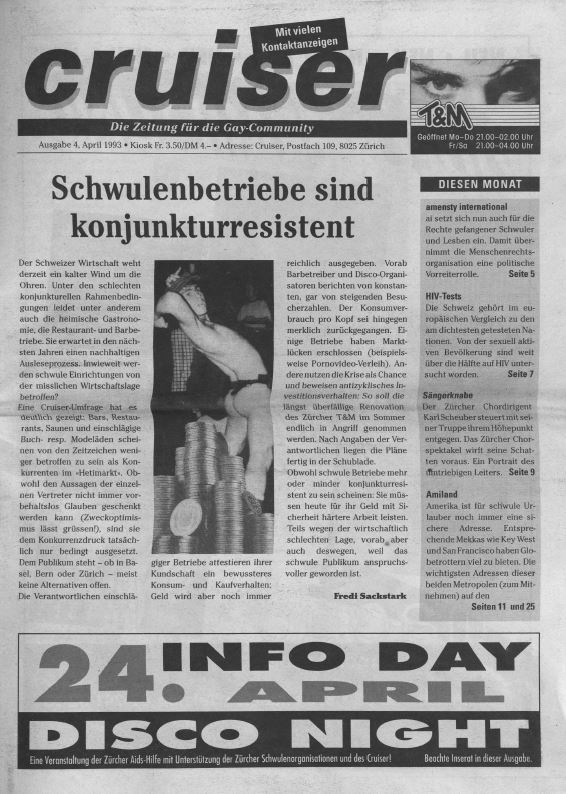 Cruiser April 1993
