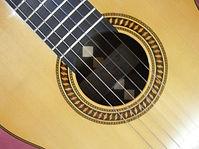 Roseta clásica guitarra clásica.