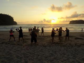 Boxing on NZ's best Beach!