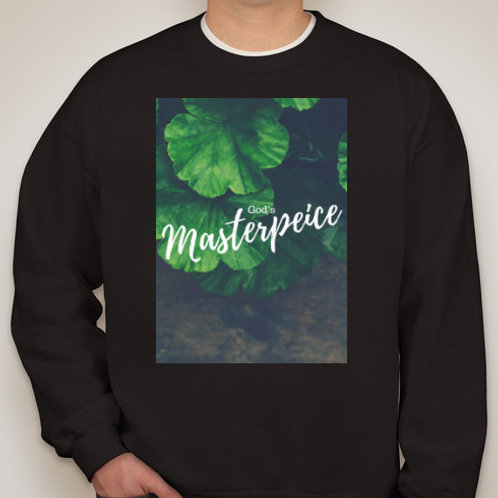 God's Masterpiece Crew neck sweater