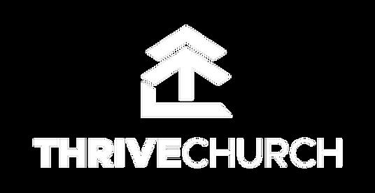 thrive church logo (white) with transpar
