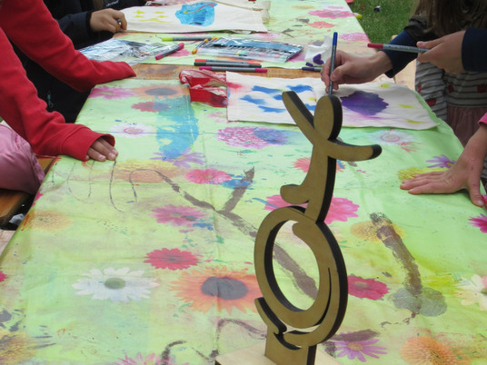 Happy Day Projekt mit der Freiligrathschule in der Rembertigemeinde
