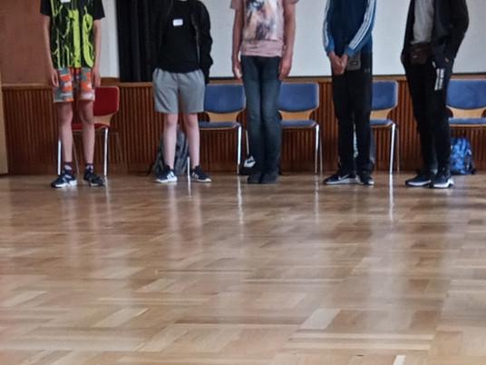 Pubertät Projekt mit der Oberschule Findorff in der Martin Luther Gemeinde Bremen-Findorff