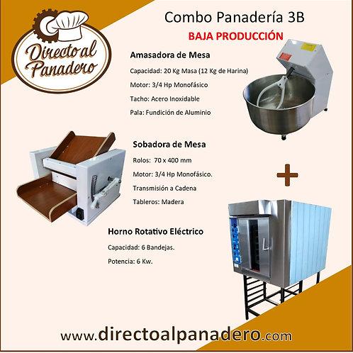 Combo Panadería Baja Produccíon 3B