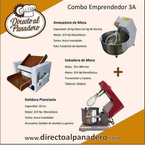 Combo Pastelería Baja Produccíon 3A