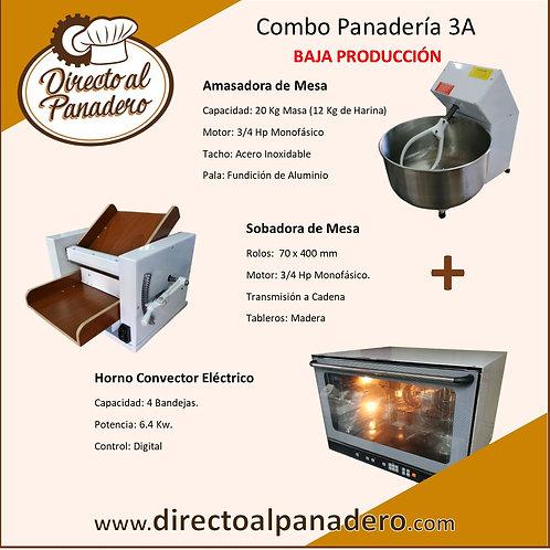 Combo Panadería Baja Produccíon 3A