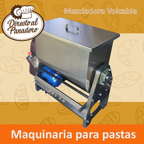 Mezcladora Volcable 35 Kg. CELTA