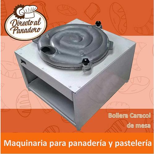 Bollera Caracol de Mesa (Trifásica)