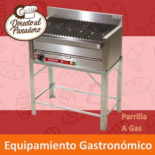 Parrilla a Gas Mediana