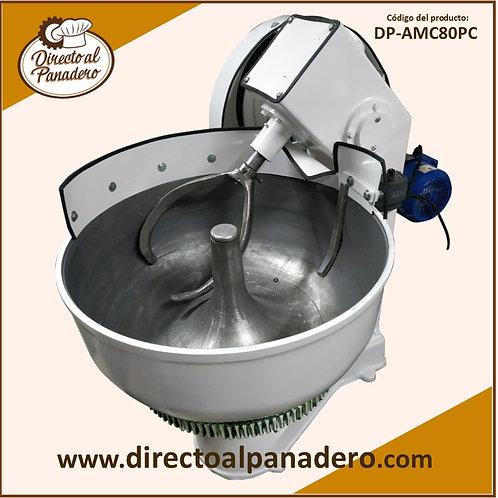 Amasadora Convencional 80 Kg. (50 Kg. harina) Con Mando Pesada