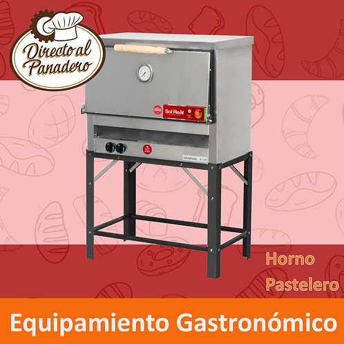 Horno Pastelero 6 Moldes - Full Inox SOL REAL