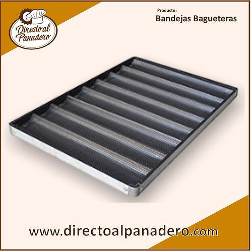 Bandeja de Aluminio Perforado 40 x 60 Baguetera