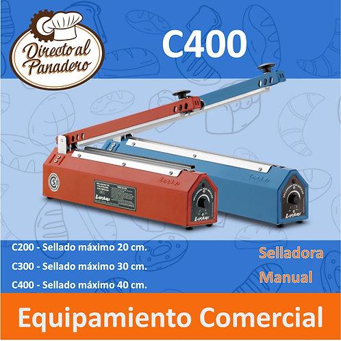 Selladora Manual Tipo Cizalla C400