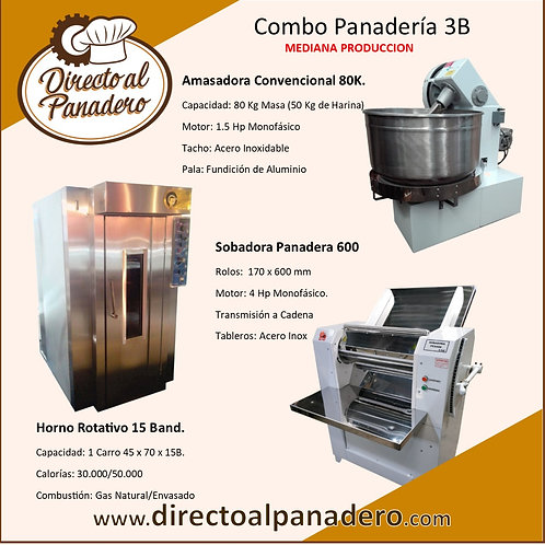 Combo Panadería Mediana Produccíon 3B Eco